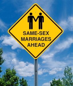 same sex marriage sign